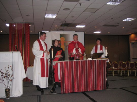 Anglican Rite Mass led by Bp.+Rick