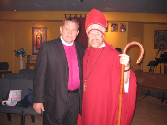 Bp. +Peter and a Bishop of the Old Catholic Church
