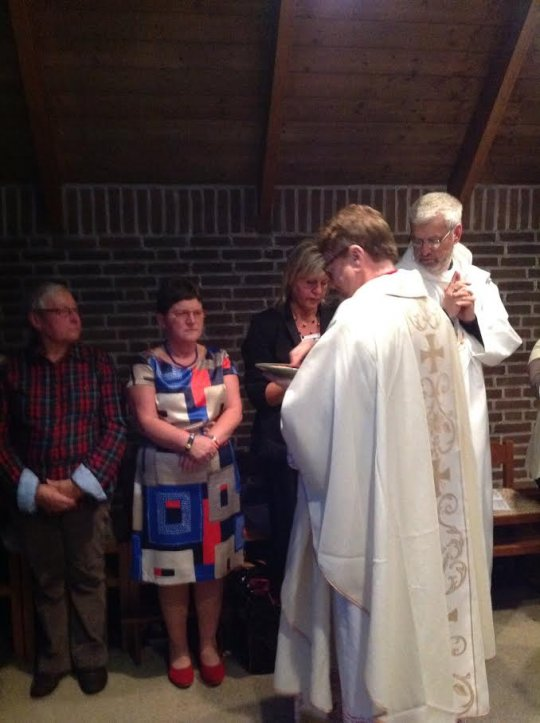 Jetty's ordination to the Diaconate