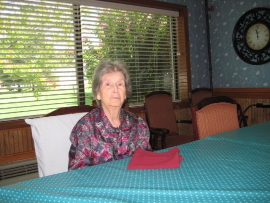 Mom at Assisted Living (8/17/10)
