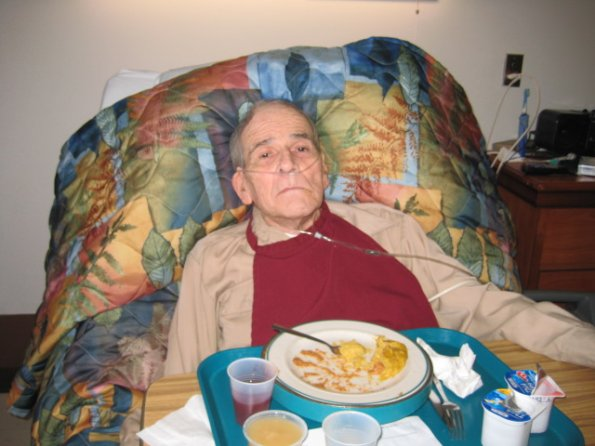 Dad at Clapp's Assisted Living (August 19, 2010)