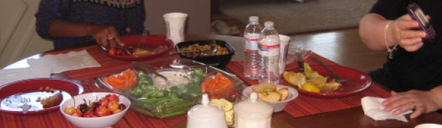 St. Junia's House: Sunday lunch at St. Junia's House 7/17/11
