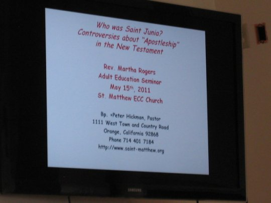 First power point on adult ed program 5/15/11